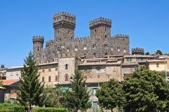 Castelo de Torre Alfina. Lazio. Itália. Imagem de Stock