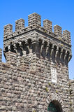 Castelo de Torre Alfina. Lazio. Itália. Foto de Stock Royalty Free
