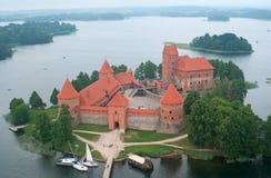 Castelo de Trakai Fotografia de Stock
