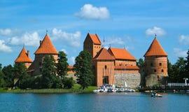 Castelo de Trakai Imagem de Stock Royalty Free