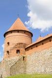 Castelo de Trakai, Lituânia, Europa Foto de Stock
