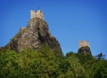 Castelo de Trosky Imagem de Stock