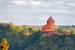 Castelo de Turaida Imagens de Stock Royalty Free