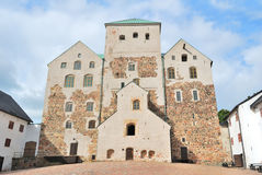 Castelo de Turku fotos de stock