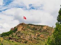Castelo de Turquia Kastamonu imagem de stock royalty free
