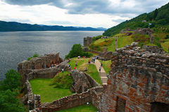 Castelo de Urqhart Imagem de Stock Royalty Free