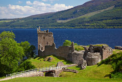 Castelo de Urquhart Imagem de Stock