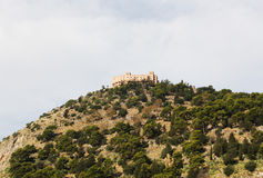 Castelo de Utveggio, palermo Imagens de Stock