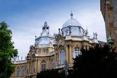 Castelo de Vajdahunjad em Budapest Imagem de Stock