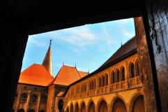 Castelo de Vajdahunyad Imagens de Stock