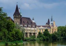 Castelo de Vajdahunyad em Budapest Imagens de Stock