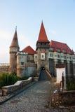 Castelo de Vajdahunyad na manhã Imagens de Stock Royalty Free