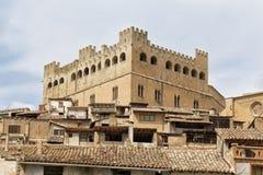 Castelo de Valderrobres foto de stock royalty free