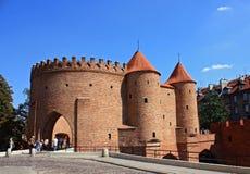 Castelo de Varsóvia fotos de stock royalty free