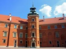 Castelo de Varsóvia para dentro Foto de Stock