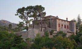 Castelo de Vauvenargues fotografia de stock