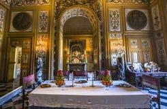 Castelo de Vaux le vicomte, Maincy, França Fotos de Stock