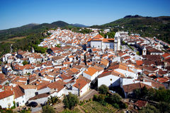 Castelo de Vide Stock Photo