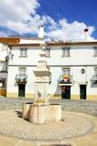 Castelo de Vide square. Royalty Free Stock Photo