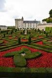 Castelo de Villandry - Loire Valley - France Imagens de Stock Royalty Free