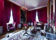 Castelo de visita de Amboise fotos de stock