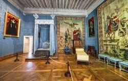 Castelo de visita de Chambord Foto de Stock