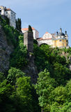 Castelo de Vranov nad Dyji, república checa Fotografia de Stock Royalty Free
