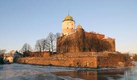 Castelo de Vyborg Fotos de Stock Royalty Free