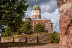 Castelo de Vyborg Imagem de Stock