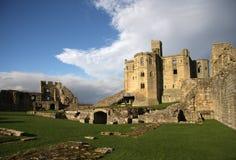Castelo de Warkworth imagem de stock royalty free