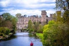Castelo de Warwick Imagem de Stock Royalty Free