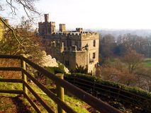 Castelo de Warwick no Reino Unido Foto de Stock