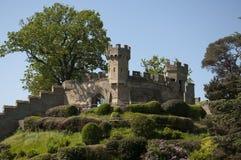 Castelo de Warwick - o monte Fotografia de Stock