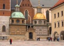 Castelo de Wawel fotografia de stock royalty free