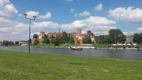 Castelo de Wawel Fotos de Stock Royalty Free