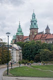 Castelo de Wawel Imagens de Stock