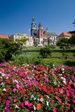 Castelo de Wawel em Krakow, Poland Imagem de Stock Royalty Free