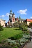 Castelo de Wawel. Krakow. Poland. imagem de stock royalty free