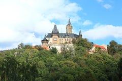 Castelo de Wernigerode Imagem de Stock Royalty Free