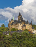 Castelo de Wernigerode fotos de stock royalty free