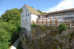 Castelo de Wildenstein Fotografia de Stock