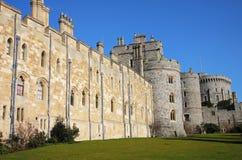 Castelo de Windsor em Inglaterra Fotografia de Stock Royalty Free
