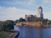 Castelo de Wyborg imagem de stock