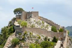 Castelo de Xativa - Espanha Fotografia de Stock Royalty Free