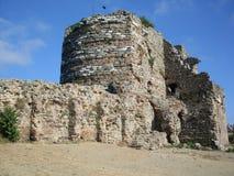 Castelo de Yoroz em Anadolu Hisari Foto de Stock