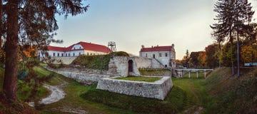 Castelo de Zbarazh, Ucrânia Imagens de Stock