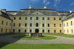 Castelo de Zdar nad Sazavou Fotos de Stock Royalty Free