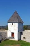 Castelo de Zrinski, detalhe fotos de stock