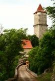 Castelo de Zvikov fotos de stock royalty free