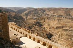 Castelo do al-Karak Imagens de Stock